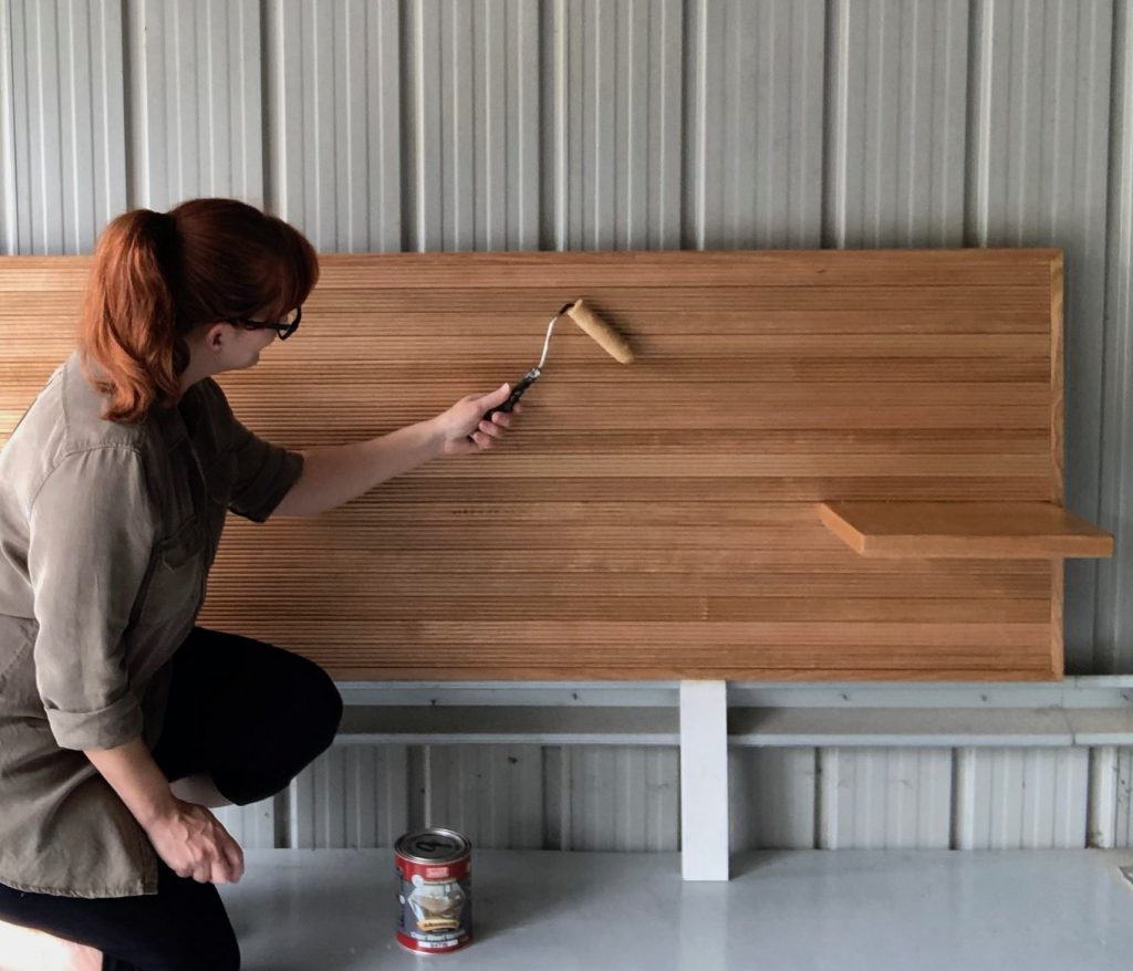 How To Build a Timber Bedhead