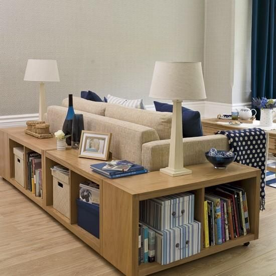 Storage for the living room