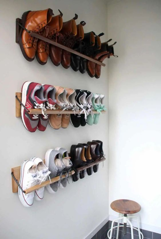 Clever shoe storage solution
