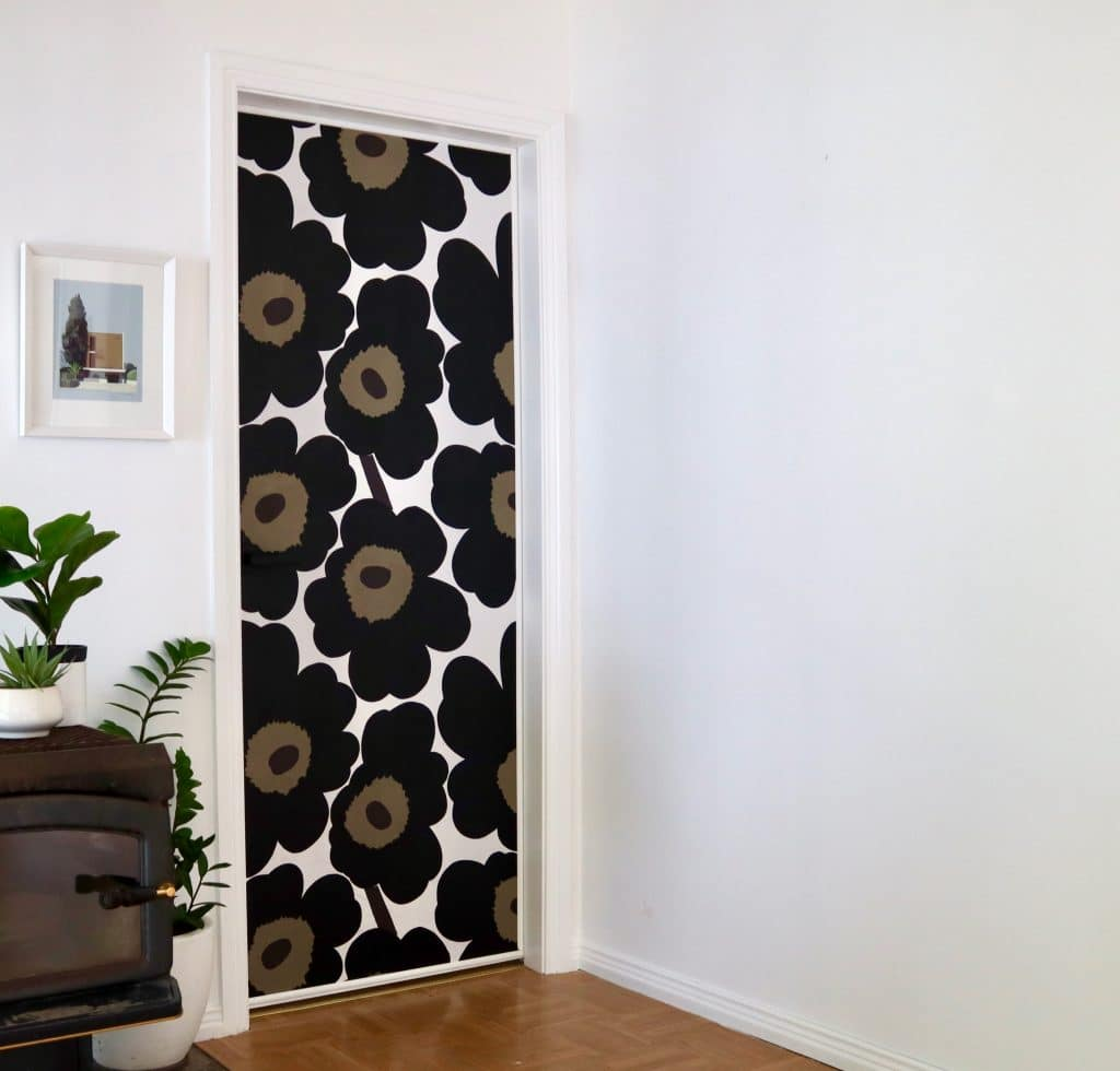 Fabric Door Renovation and Makeover