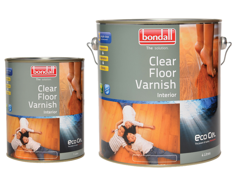 Ecocel Clear Floor Varnish