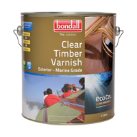 Ecocel Gold Clear Timber Varnish