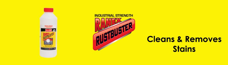 Ranex RustBuster - Stain Remover & Cleaner