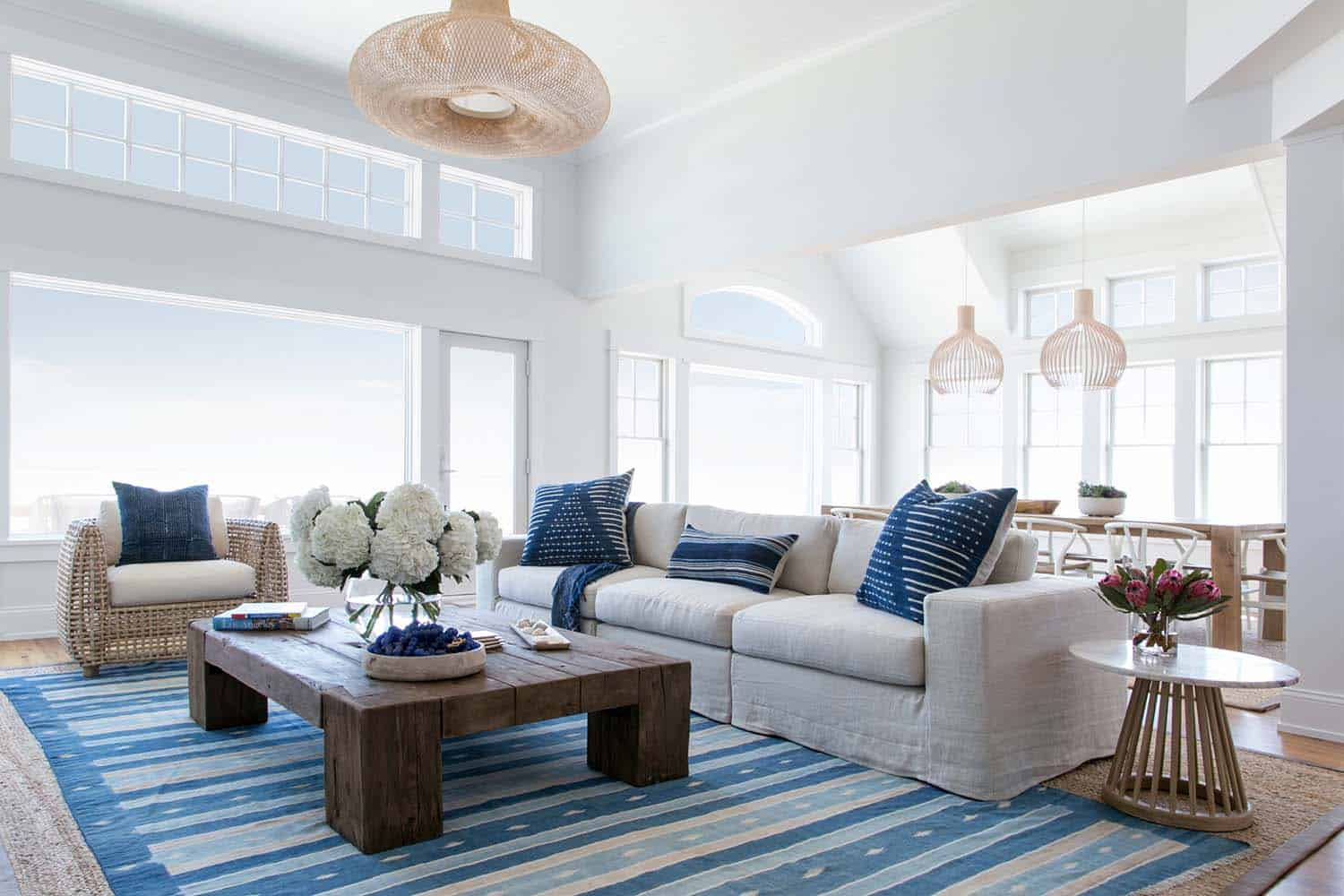 The beachy coastal home design trend and how to get it