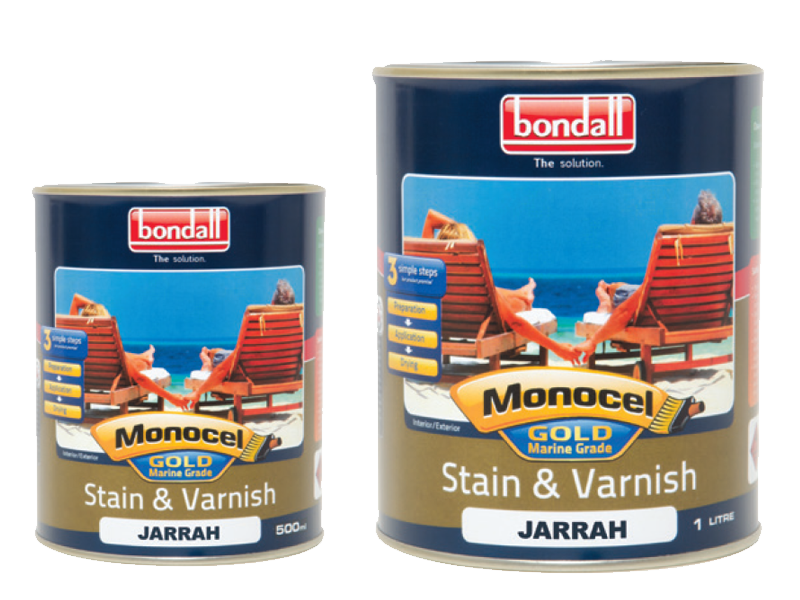 Monocel Gold Stain and Varnish