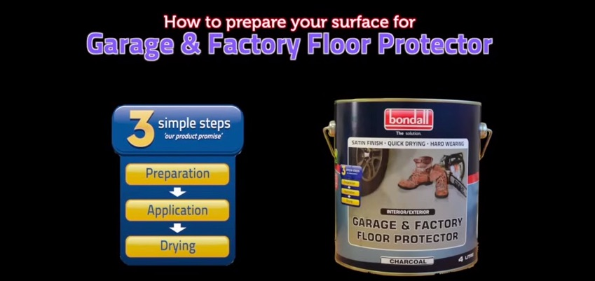 How to Prepare Surface for Garage & Factory Floor Protector