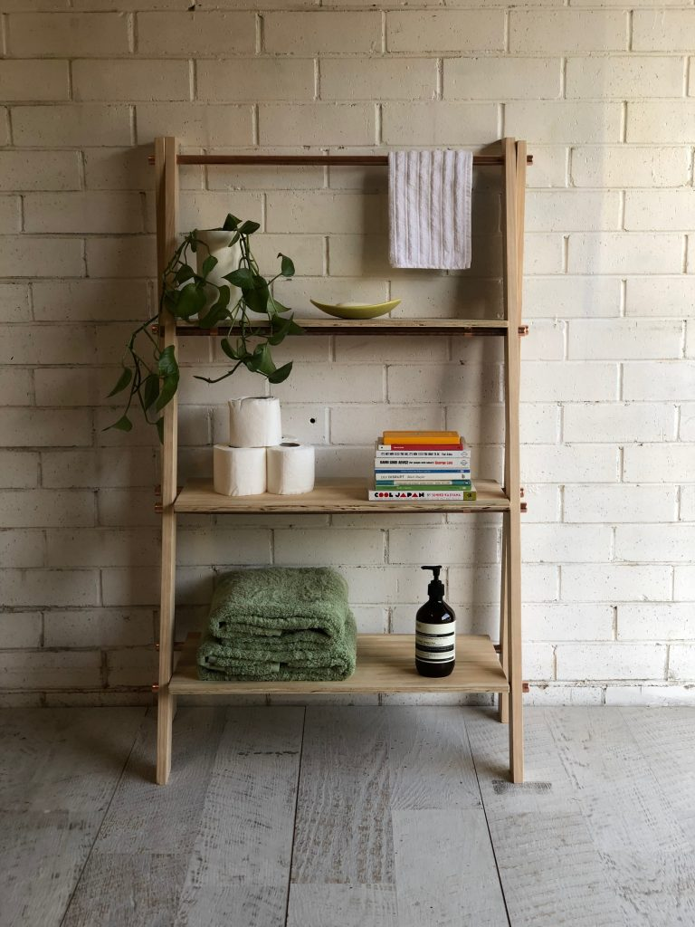 How to Build Your Own Bathroom Storage Rack