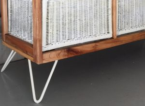 How to Modernise a Rattan Cabinet