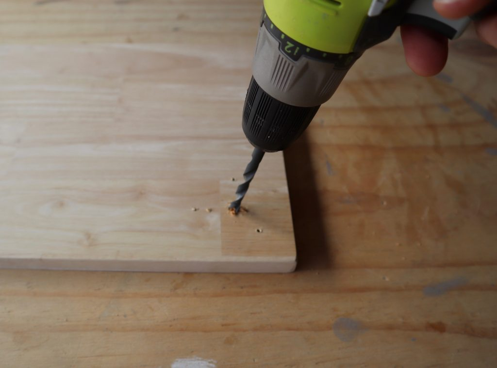 Step 4. Drill the holes