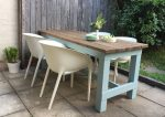 DIY Outdoor Furniture Makeover - Wooden Table