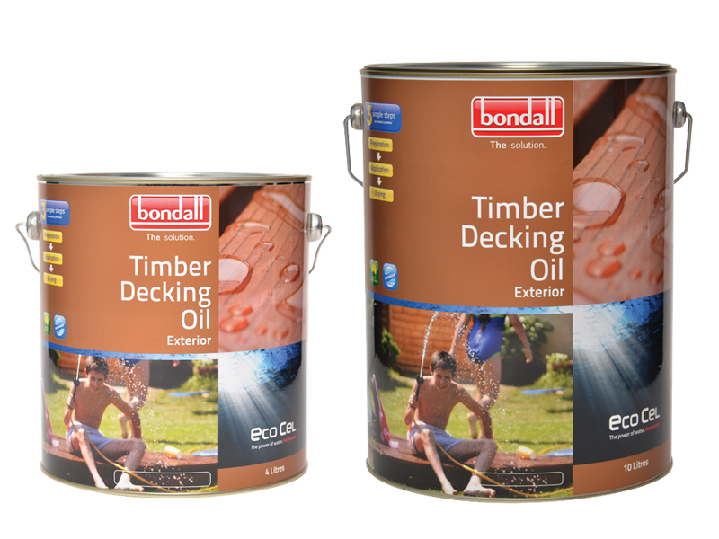 Ecocel Timber Decking oil