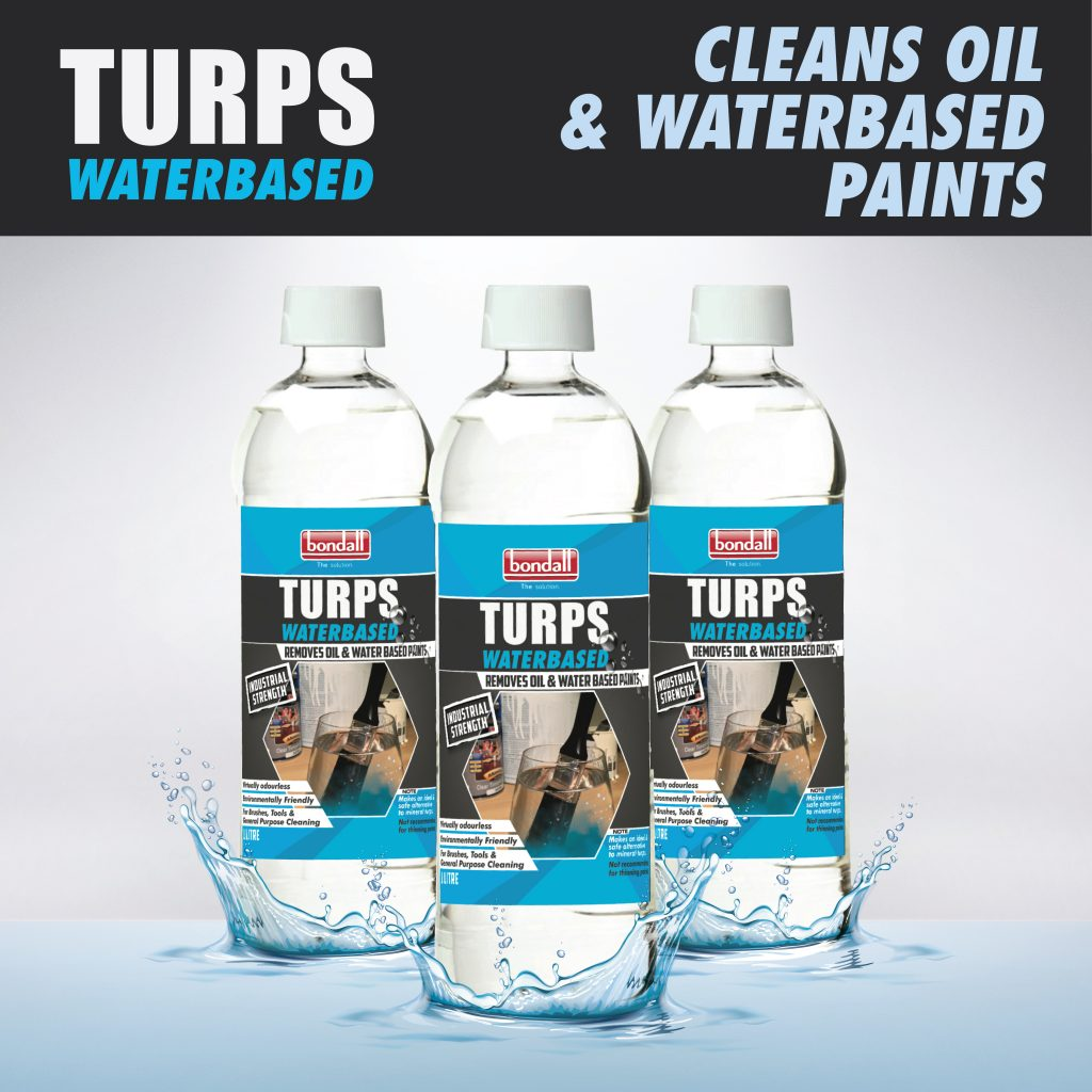 TURPS OIL & WATER AD-01