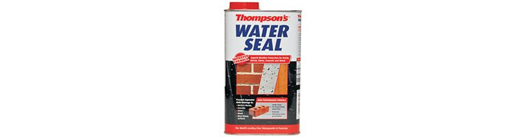Preparation of special substrates before using Thompson's Water Seal