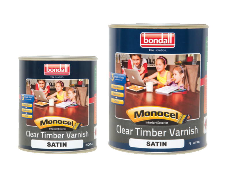 monocel clear timber varnish