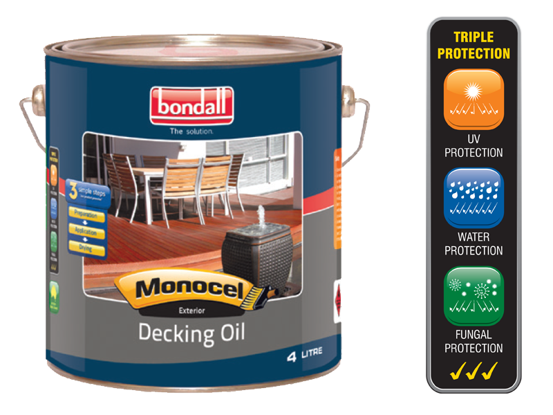 gold decking oil