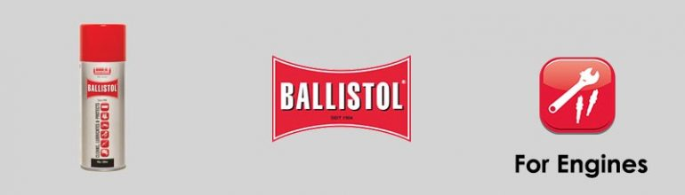 Ballistol For Engines