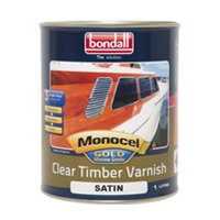 Monocel - Gold Clear Timber Varnish