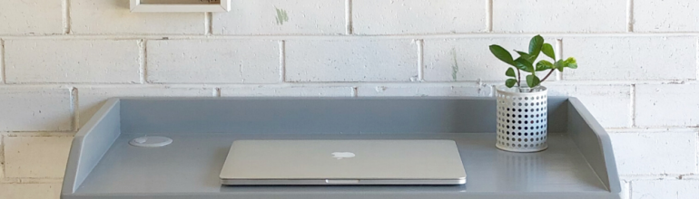 How to Build Your Own Laptop Desk