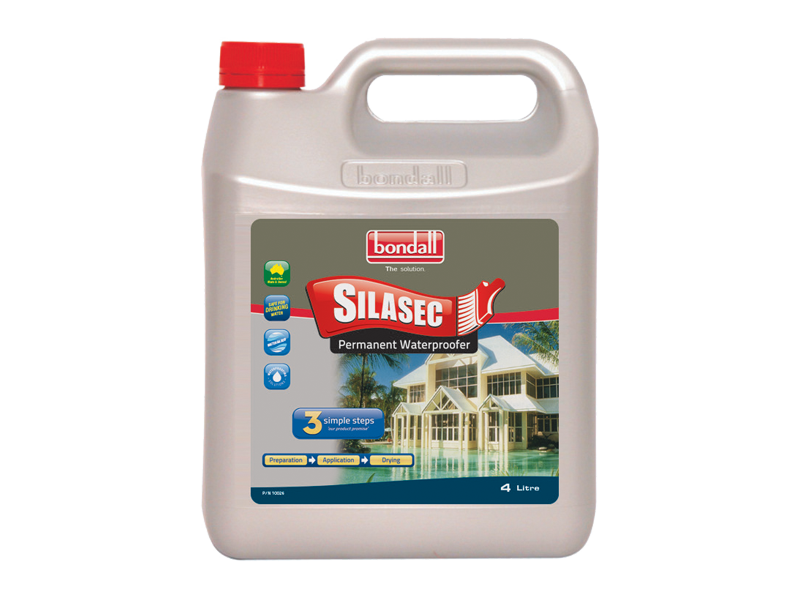 Bondall Silasec - waterproofer for masonry & concrete surfaces