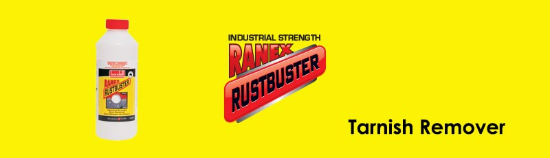 Surface Rust and Tarnish Removal with Ranex RustBuster
