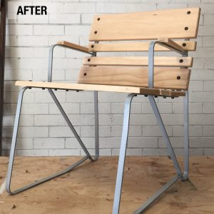 This Garden Chair Revamp is Why You Should Never Throw Old Furniture Away